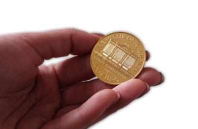 Zlaté mince můžete pořídit za cenu zlata